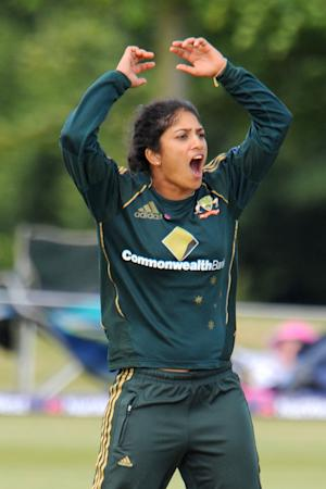 Spinner Lisa Sthalekar played her part as Australia secured a final place