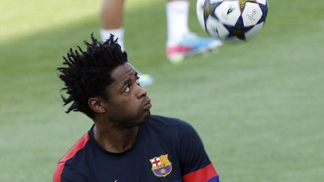 Barcelona's Alex Song (Reuters)