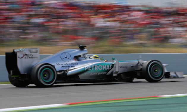 Spanish F1 Grand Prix - Qualifying