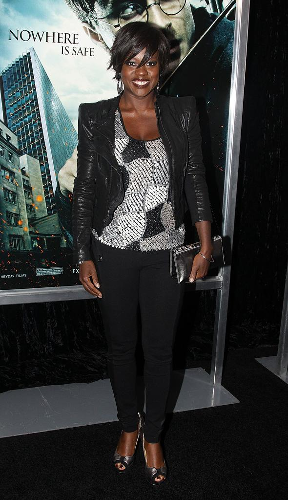 Harry Potter and the Deathly Hallows Pt 1 NYC premiere 2010 Viola Davis