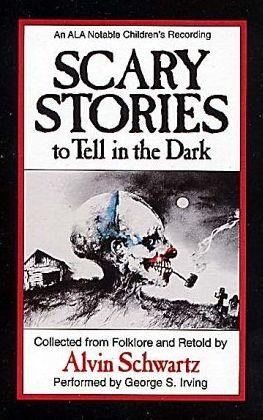 The Scary Stories series by Alvin Schwartz