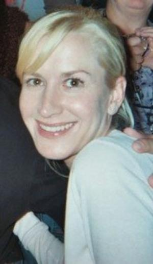 Angela Kinsey at The Office Convention in Scranton, PA.