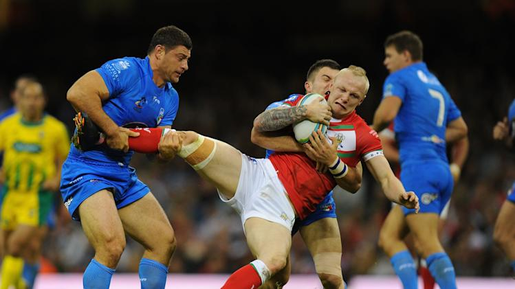 Wales v Italy - Rugby League World Cup: Inter-group Match