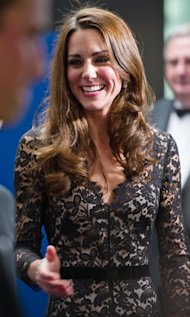 Angelina Jolie, Katie Holmes, Anne Hathaway Join Kate Middleton's Glossy Hair Crew