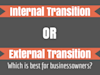 Everything You Need to Know About External vs. Internal Business Ownership Transition Planning