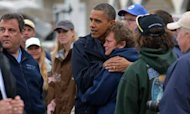 Sandy: Barack Obama Sees New Jersey Damage