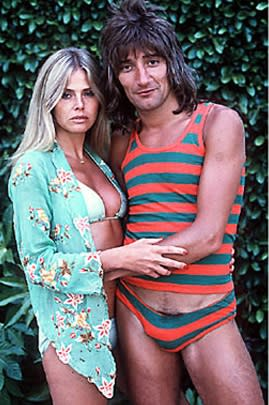 Rod Stewart: Whoa. It's an entire Speedo outfit!