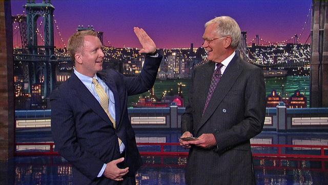David Letterman - Dave's Monologue - 9/3/13