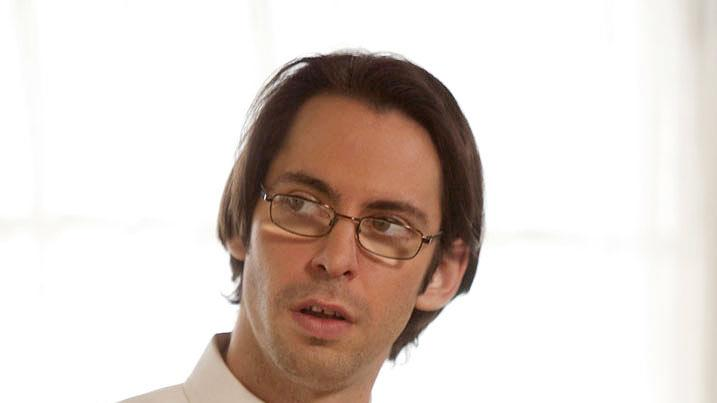 "Martin Starr stars as Roman DeBeers in ""Party Down."""