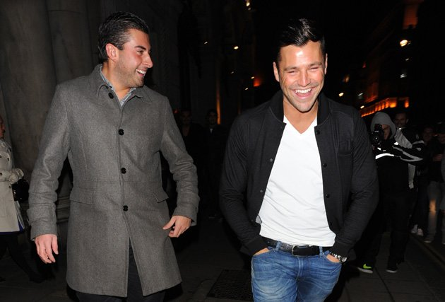 Mark Wright and Arg