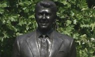 Ronald Reagan Honoured With London Statue