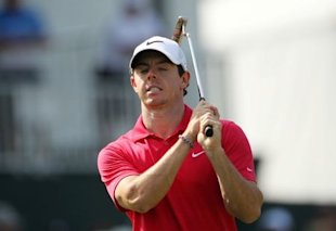 Rory McIlroy's run came to an end Sunday, but he may be hoisting another trophy next weekend. (Reuters)