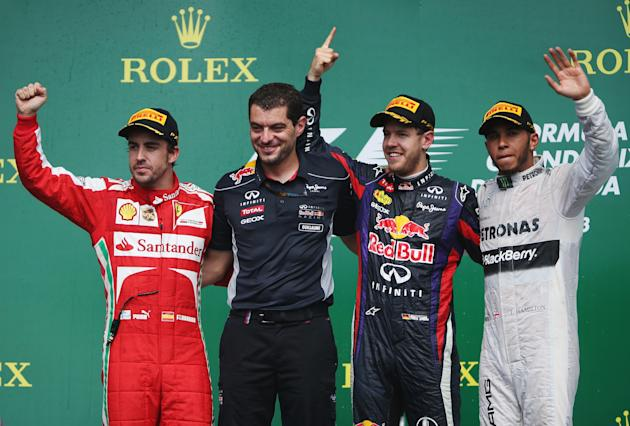 Canadian F1 Grand Prix - Race