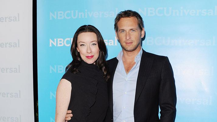 "Molly Parker and Josh Lucas (""The Firm"") attend the 2012 NBC Universal Winter TCA All-Star Party at The Athenaeum on January 6, 2012 in Pasadena, California."