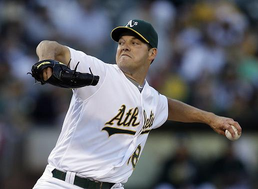 Rich Hill has yet to make his Dodgers debut due to on-going blister issues. (AP)