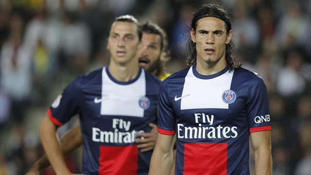 Ligue 1 - Ibrahimovic, Cavani on target as PSG beat Rennes