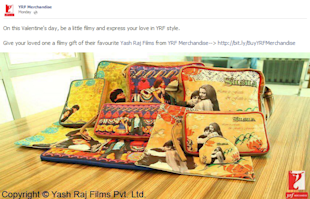 18 Of The Coolest Indian Social Media Campaigns Of Quarter 1 2013 image YRF merchandise Facebook