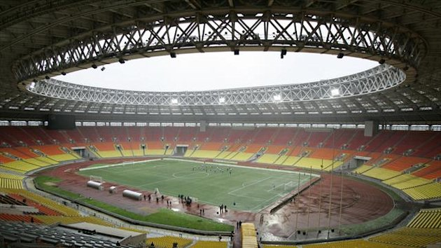 A general view of Moscow's Luzhniki Stadium (Reuters)