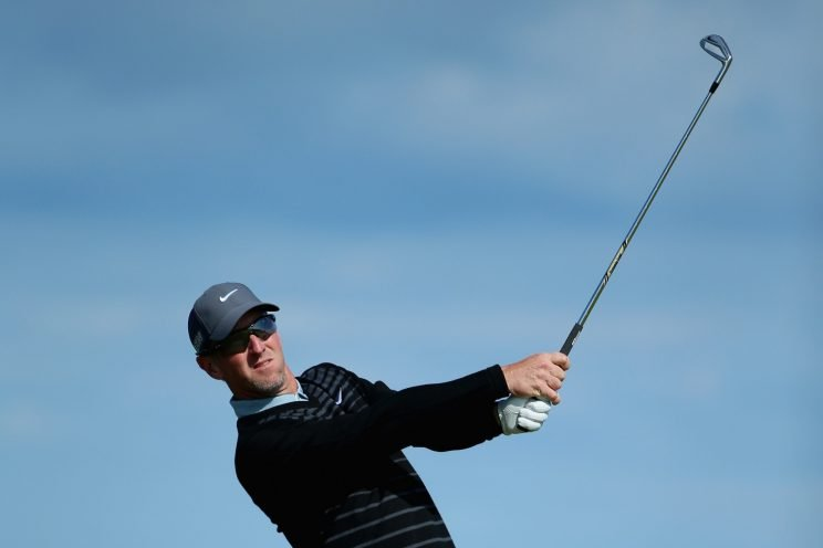 David Duval is a winner again as a professional. (Getty Images)