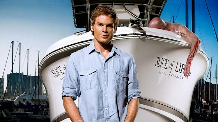 Michael C. Hall stars as Dexter Morgan on Dexter.