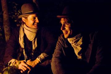 Jeremy Renner and Sam Rockwell in Warner Bros. Pictures' The Assassination of Jesse James by the Coward Robert Ford