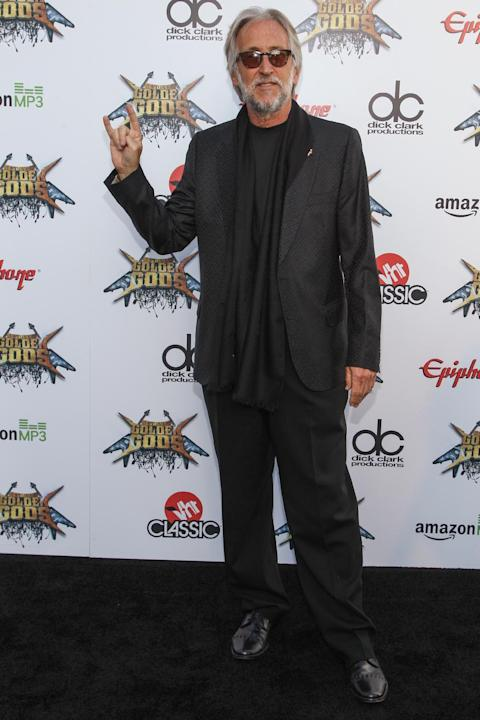 Neil Portnow, President of the National Academy of Recording Arts and Sciences, attends the 6th Annual Revolver Golden Gods Award Show at Club Nokia on April 23, 2014 in Los Angeles, California. (Phot