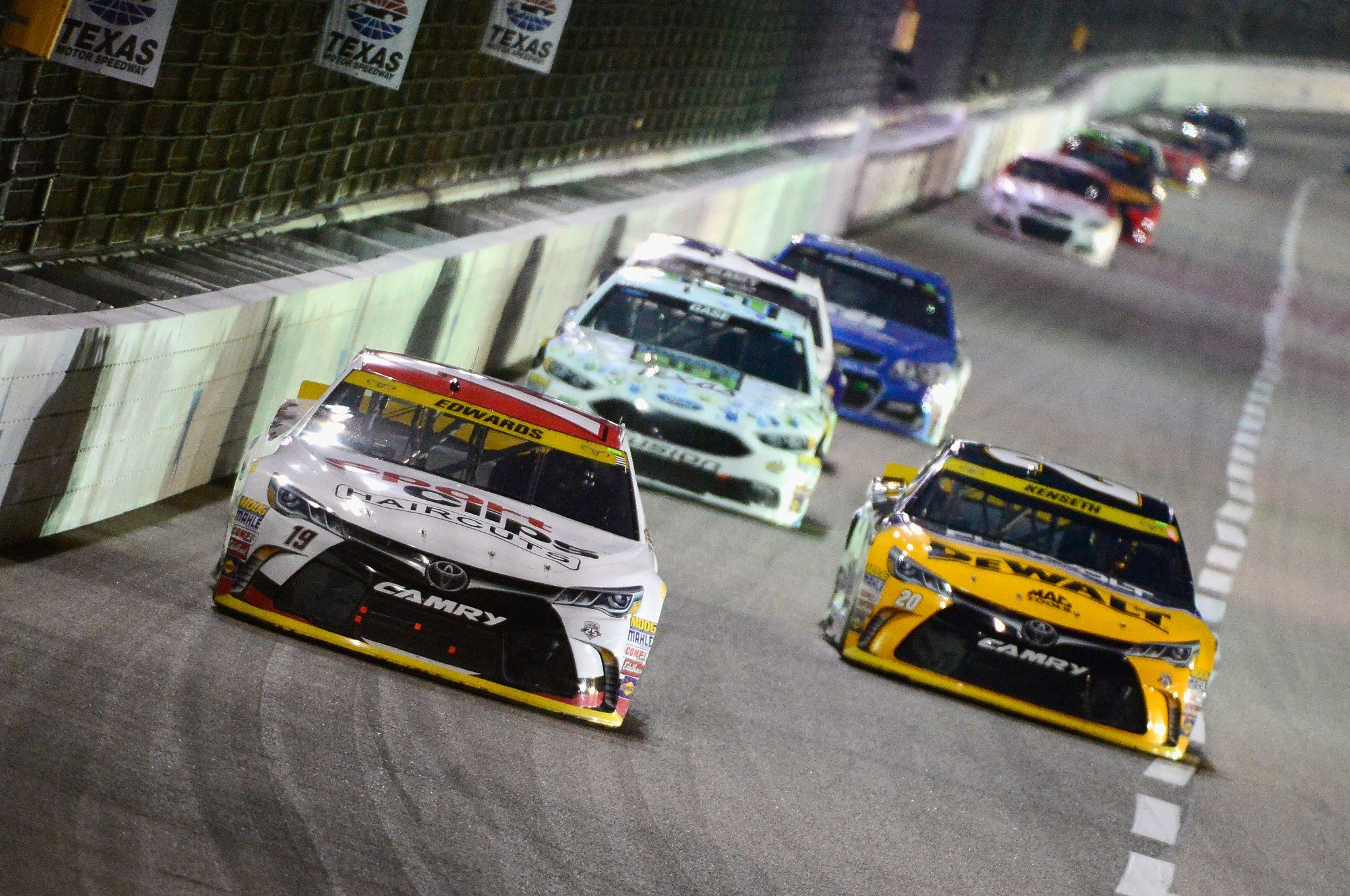 Will Matt Kenseth (R) be joining Carl Edwards in the title hunt at Homestead? (Getty)