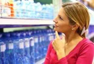 Bottled water is one of a few grocery store products that you might want to skip.