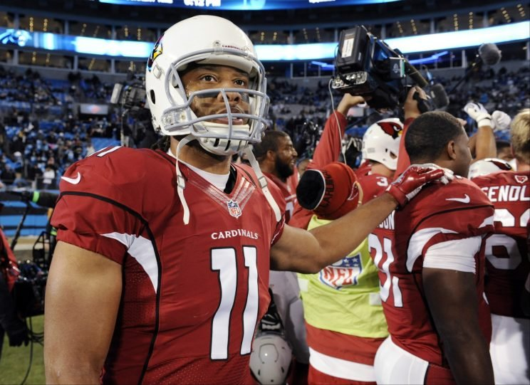 Larry Fitzgerald has no retirement plans yet (AP)