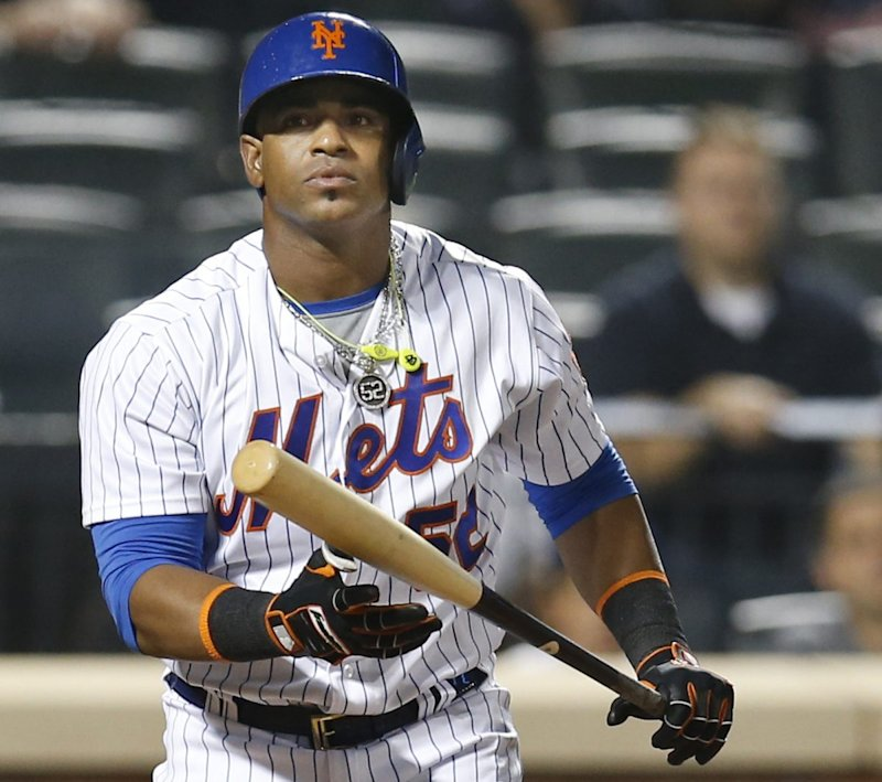 Yoenis Cespdes is a free agent after opting out his contract with the Mets. Will he end up leaving New York? (AP)