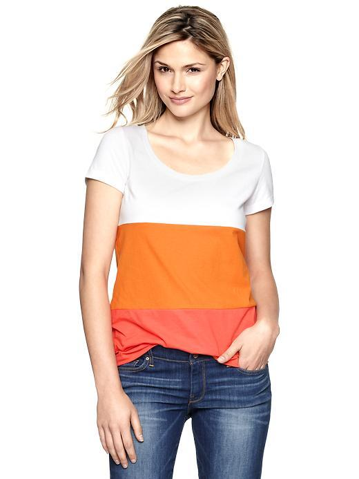 Colorblocked Shirt