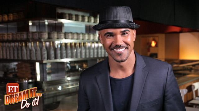 Shemar Moore Brings His Sexy to the Sushi Counter