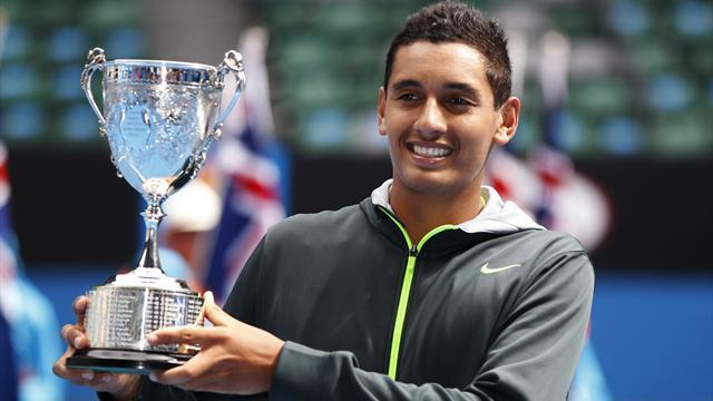 Australian Open - Kyrgios and Konjuh win junior titles