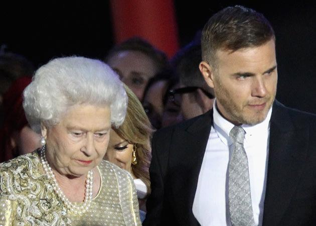 Gary Barlow, Queen, Diamond Jubilee Concert