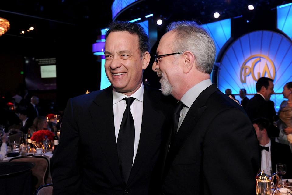 22nd Annual Producer's Guild Awards 2011 Tom Hanks Gary Goetzman