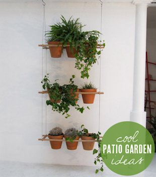 A little garden for your patio!