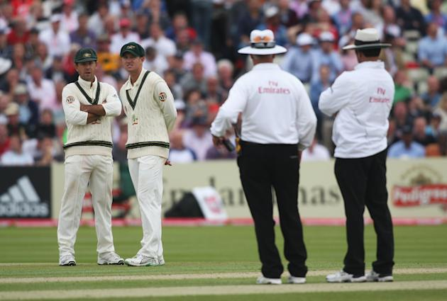 England v Australia - npower 3rd Ashes Test: Day Two