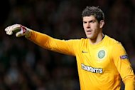Fraser Forster, pictured, could be a great Celtic goalkeeper, according to Pat Bonner