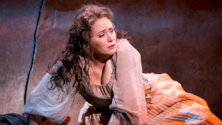 This undated handout photo provided by the Washington National Opera shows Patricia Racette as Manon Lescaut.  (AP Photo/Scott Suchman, WNO)