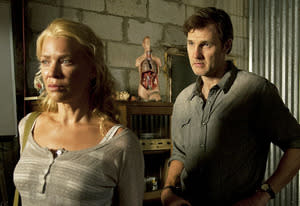 Laurie Holden and David Morrissey | Photo Credits: Gene Page/AMC
