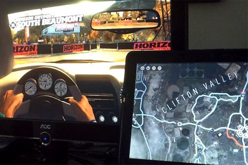 Microsoft reveals Forza Horizon SmartGlass GPS map doesn't work on Android... yet. Microsoft, Gaming, Apps, Xbox SmartGlass, Forza Horizon, Windows 8 0