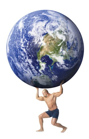 The earth weighs 5.9736×1024kg in case your kid asks. (ThinkStock Photos)