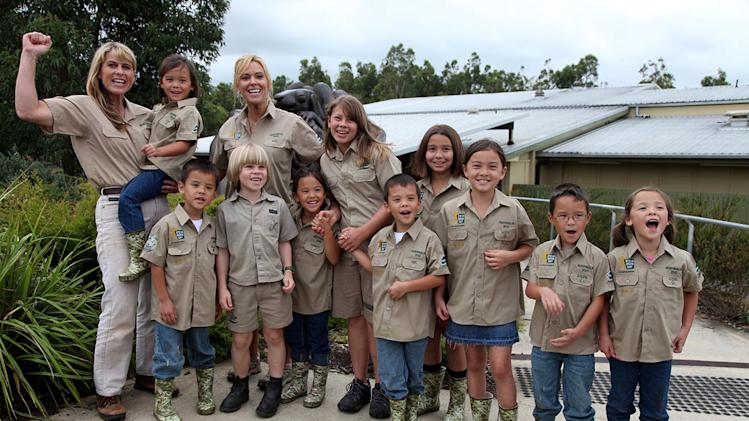 "Gosselins and Irwins together at the Australia Zoo as seen on ""Kate Plus 8."""