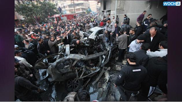 Deadly Blast Hits South Beirut Neighborhood