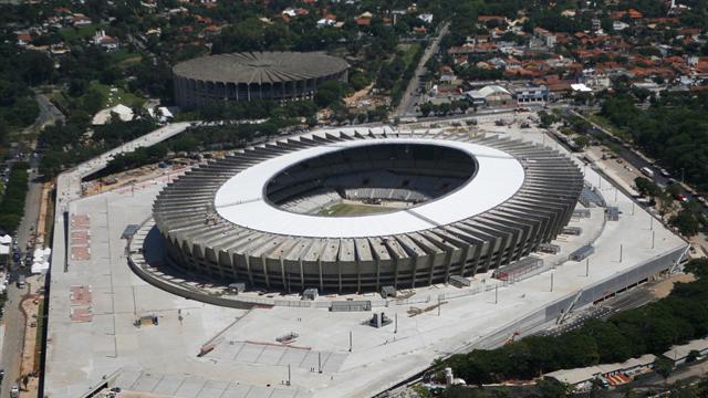 World Cup - Builders fined for World Cup stadium problems