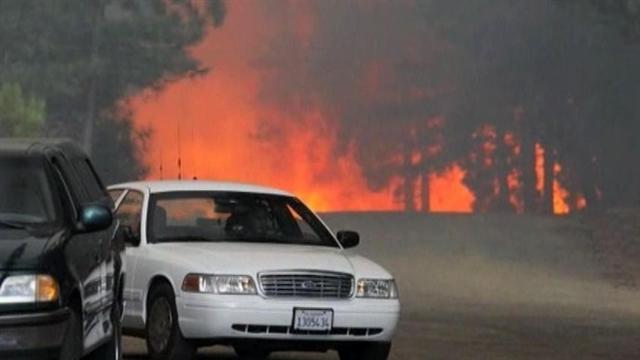 Wildfires in Northern Calif. force thousands to evacuate