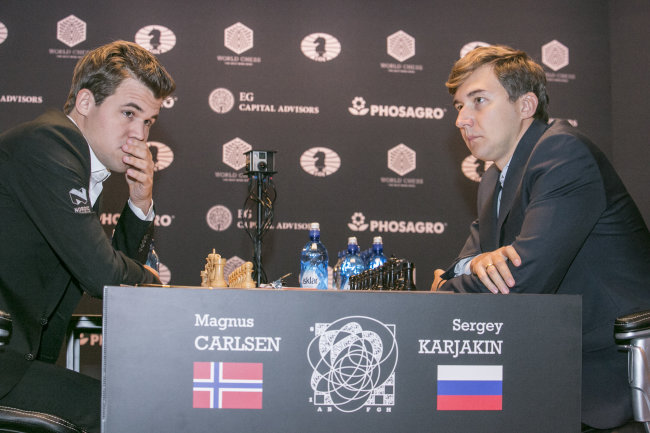 Norway's Carlsen captures world chess title