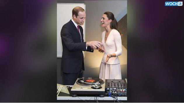 Will And Kate Take DJ Lessons Down Under