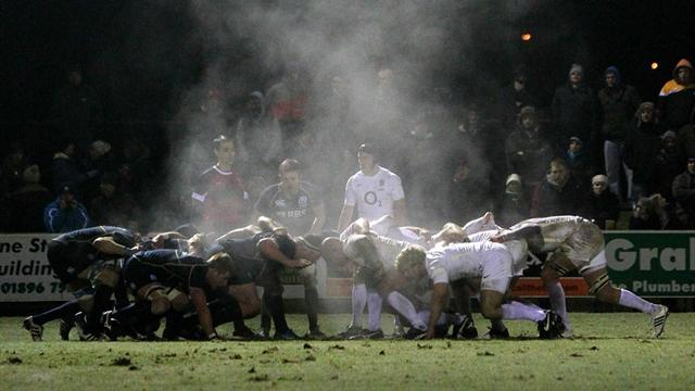 Rugby - England Saxons slump to defeat against Scotland A