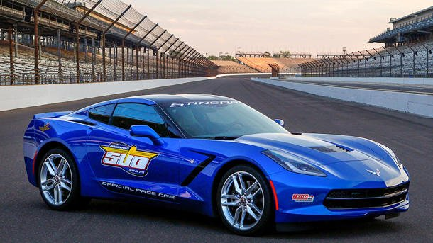 2014 Chevy Corvette Stingray Indy 500 pace car